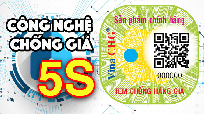 tem chống giả 5s